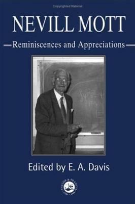 Nevill Mott - Davis, E A (Editor)