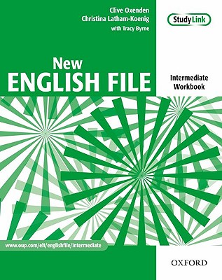 New English File: Intermediate: Workbook with key and MultiROM Pack: Six-level general English course for adults - Oxenden, Clive, and Latham-Koenig, Christina