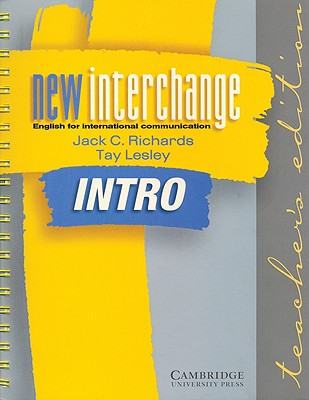 New interchange intro teachers edition english for international new interchange intro teachers edition english for international communication lesley tay and fandeluxe Choice Image