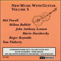 New Music with Guitar, Vol.5 - David Starobin (guitar); Oren Fader (guitar); Peter Yates (guitar); Todd Seelye (guitar); William Anderson (guitar);...