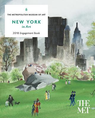 New York in Art 2018 Engagement Book - Metropolitan Museum of Art the