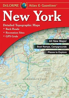 New York State Atlas & Gazetteer - Delorme Publishing Company (Creator), and Rand McNally (Creator)