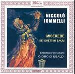 Niccolò Jommelli: Miserere; Sei Duettini Sacri
