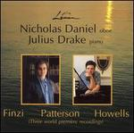 Nicholas Daniel performs Finzi, Patterson & Howells