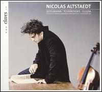 Nicolas Altstaedt plays Schumann, Tcha�kovsky & Gulda - Nicolas Altstaedt (cello); Rheinland-Pfalz Staatsphilharmonie; Alexander Joel (conductor)