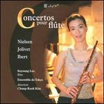 Nielsen, Jolivet, Ibert: Concertos pour flûte