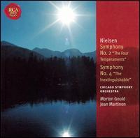 "Nielsen: Symphony No. 2 ""The Four Temperaments""' Symphony No. 4 ""The Inextinguishable"" - Donald Koss (tympani [timpani]); Gordon Peters (tympani [timpani]); James Galway (flute); Sioned Williams (harp);..."