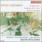Nikolai Rimsky-Korsakov: Symphony Nos. 1 & 2/Capriccio Espagnol