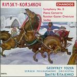 Nikolay Rimsky-Korsakov: Symphony No. 3; Piano Concerto; Russian Easter Overture; Sadko