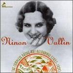 Ninon Vallin-The Complete Pathé-Art Recordings, 1927-1929