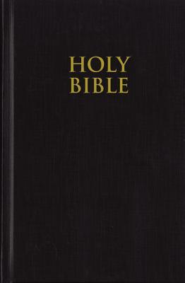 NIV, Pew Bible, Hardcover, Black - Zondervan