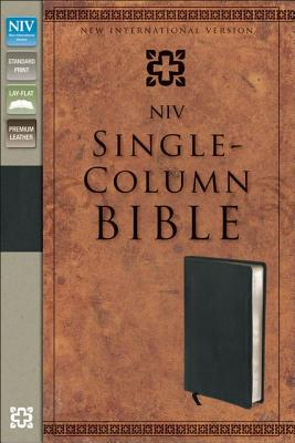NIV Single-column Bible - Zondervan Bibles (Creator)