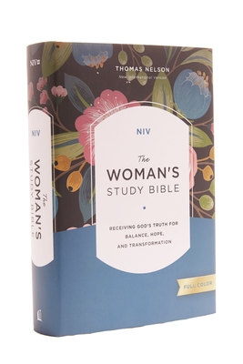 NIV, the Woman's Study Bible, Hardcover, Full-Color: Receiving God's Truth for Balance, Hope, and Transformation - Patterson, Dorothy Kelley (Editor), and Kelley, Rhonda (Editor), and Thomas Nelson