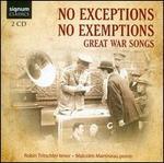 No Exceptions, No Exemptions