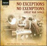 No Exceptions, No Exemptions - Malcolm Martineau (piano); Robin Tritschler (tenor); Ruth Gibbons (viola)