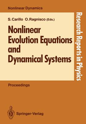 Nonlinear Evolution Equations and Dynamical Systems - Carillo, Sandra (Editor)
