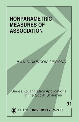Nonparametric Measures of Association - Gibbons Fielden, Jean D