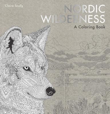 Nordic Wilderness: A Coloring Book -