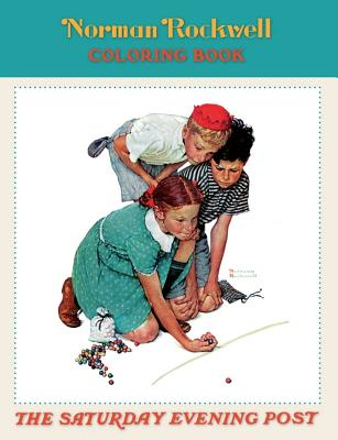 Norman Rockwell Coloring Book Cb100 -