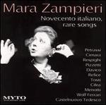 Novecento italiano, rare songs - Bruno Volpato (piano); Mara Zampieri (soprano)
