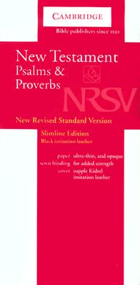 NRSV New Testament and Psalms Black Imitation Leather NRNT1 -
