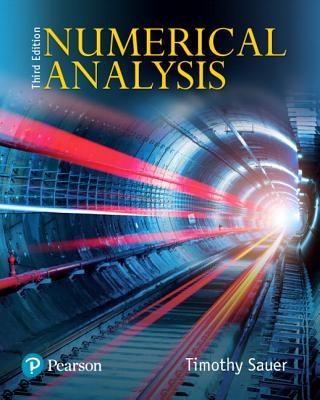 Numerical Analysis - Sauer, Timothy