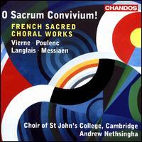 O Sacrum Convivium!: French Sacred Choral Works - Augustus Perkins Ray (bass); Edward Picton-Turbervill (organ); Guy James (counter tenor); Jason Cobb (treble);...