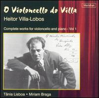 O Violoncello do Villa - Miriam Braga (piano); Tania Lisboa (cello)