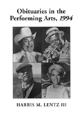 obituaries in the performing arts 1994 film television