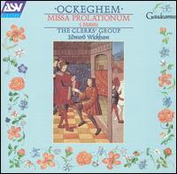 Ockeghem: Missa Prolationum: 5 Motets - The Clerks' Group