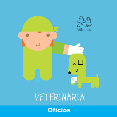 Oficio: Veterinario - Campabadal, Monica (Illustrator)