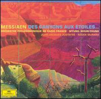 Olivier Messiaen: Des Canyons aux Étoiles - Francis Petit (xylorimba); Jean-Jacques Justafre (horn); Renaud Muzzolini (glockenspiel); Roger Muraro (piano);...