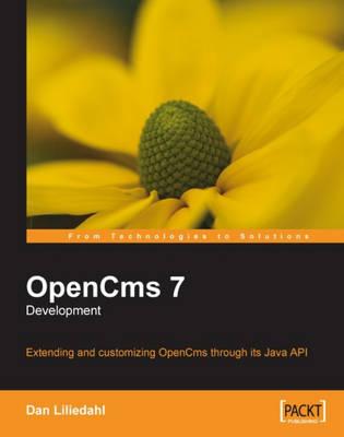 Opencms 7 Development - Liliedahl, Dan