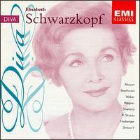 Opera Divas - Elisabeth Schwarzkopf (soprano); Josef Metternich (baritone)