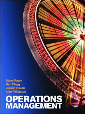 Operations Management: With Connect Plus Card - Paton, Steve, and Clegg, Ben, and Hsuan, Juliana