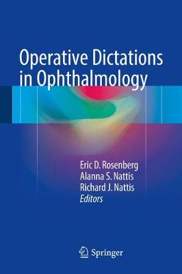 Operative Dictations in Ophthalmology - Rosenberg, Eric D (Editor)