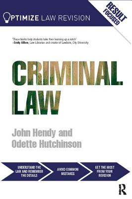 Optimize Criminal Law - Hendy, John
