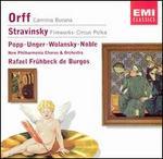 Orff: Carmina Burana; Stravinsky: Fireworks; Circus Polka