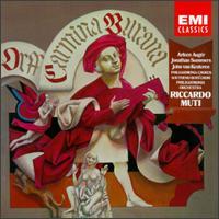 Orff: Carmina Burana - Arleen Augér (soprano); Jonathan Summers (baritone); Riccardo Muti (conductor)