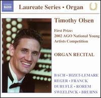 Organ Recital - Timothy Olsen (organ)