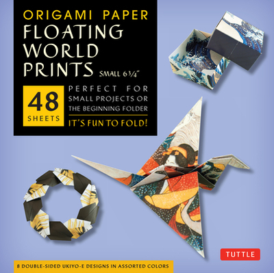 Origami Paper Floating World Prints Small 6 3/4 - Tuttle Publishing (Editor)