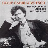Ossip Gabrilowitsch - Flonzaley String Quartet; Harold Bauer (piano); Ossip Gabrilowitsch (piano)