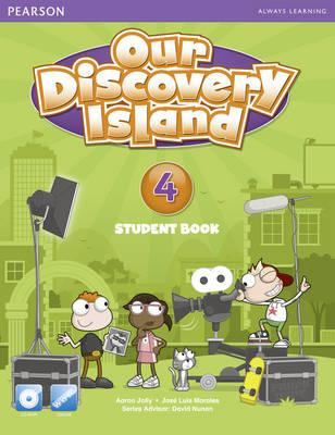 Our Discovery Island American Edition Students' Book with CD-rom 4 Pack - Jolly, Aaron, and Morales, Jose Luis