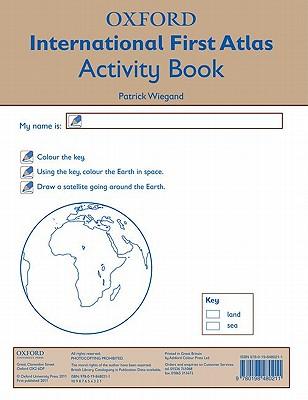 Oxford International First Atlas Activity Book - Wiegand, Patrick (Editor)