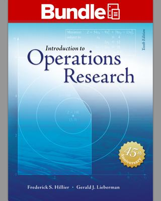 Package: Loose Leaf for Introduction to Operations Research with 1 Semester Connect Access Card - Hillier, Frederick S, and Lieberman, Gerald J