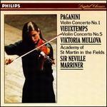 Paganini: Violin Concerto No. 1; Vieuxtemps: Violin Concerto No. 5