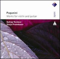 Paganini: Works for Violin & Guitar - Gyorgy Terebesi (violin); Sonja Prunnbauer (guitar)