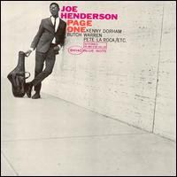 Page One - Joe Henderson
