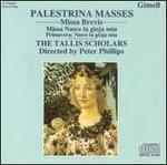 Palestrina Masses: Missa Brevis; Missa Nasce la gioja mia