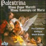 Palestrina: Missa Papae Marcelli; Missa Assumpta Est Maria